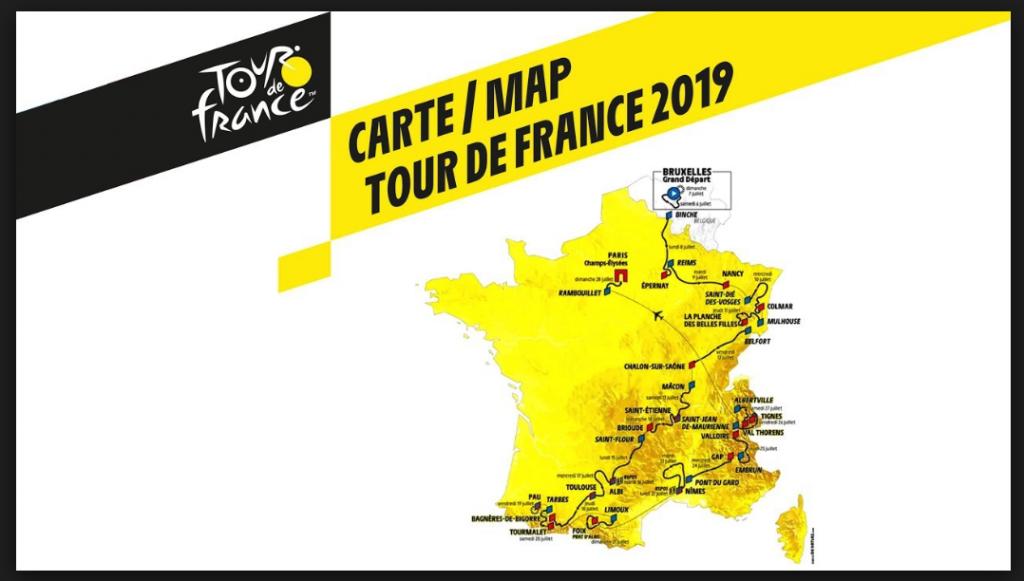 Tour de France Programm