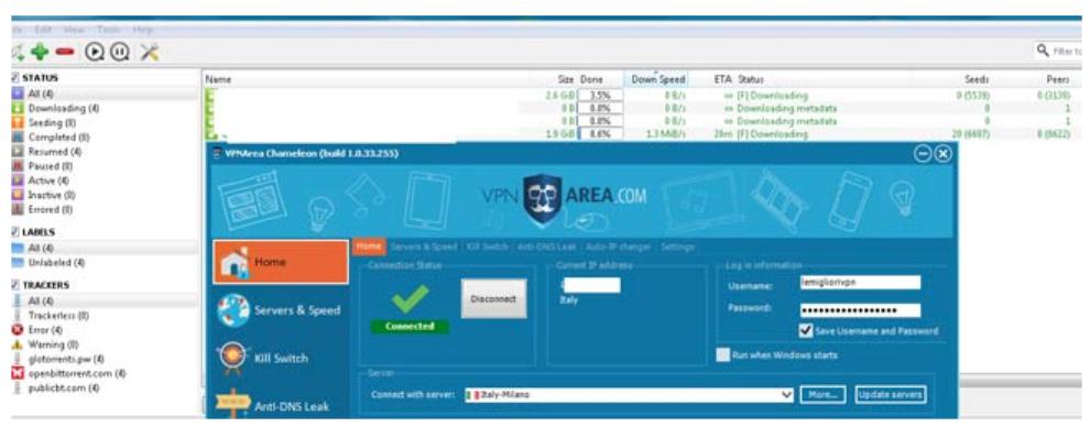 VPNArea test