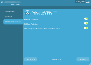 Private VPN test