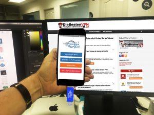 ThePhotoStick mobile Test