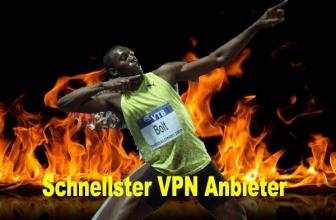 Schnellster VPN Anbieter Internet-Zugang beschleunigen